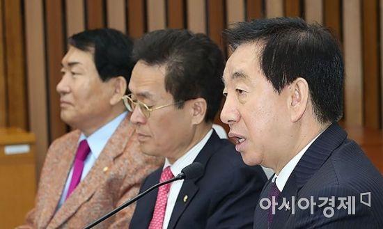 """김성태 """"MB 검찰 조사, 한풀이 정치 반복되는 일 없어야"""""""