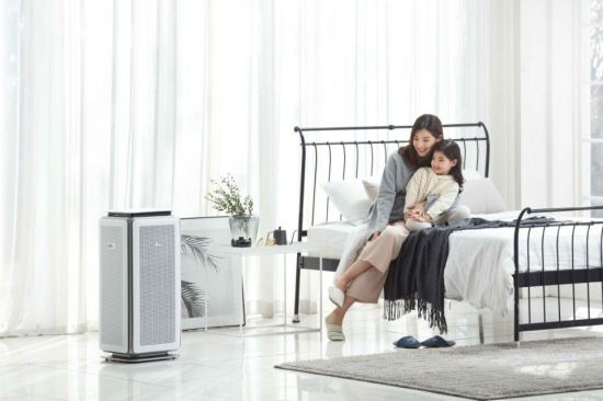 [봄시즌 가구인테리어 특집] 움직임 따라 먼지감지…똑똑한 공기정화