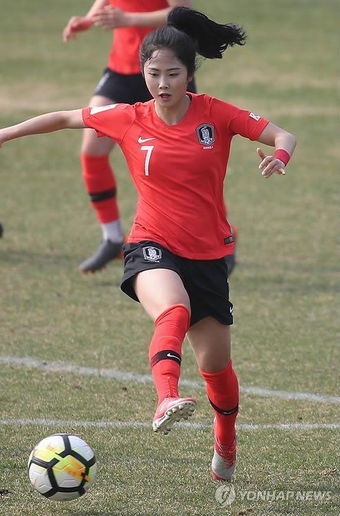 한국여자축구대표 이민아 선수