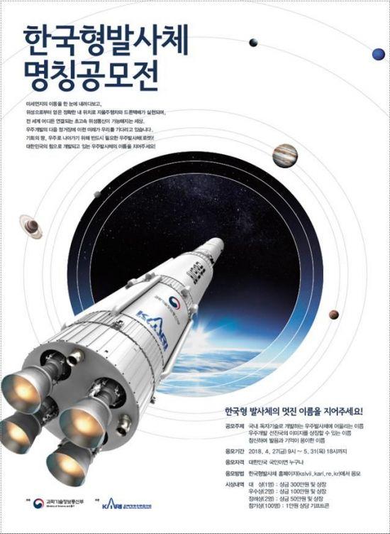 '누리', 국민이 정한 한국형발사체의 이름