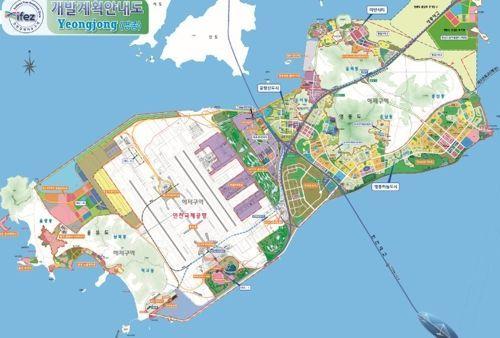 인천 영종국제도시 개발계획