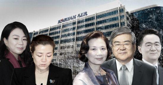 """""""회사경비 인력 자택에서 부렸다""""…경찰, 한진일가 대상 내사 착수"""