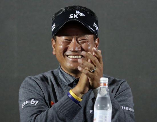 최경주는 2008년 한국 선수 중 세계랭킹 최고 순위인 5위까지 오른 주인공이다.