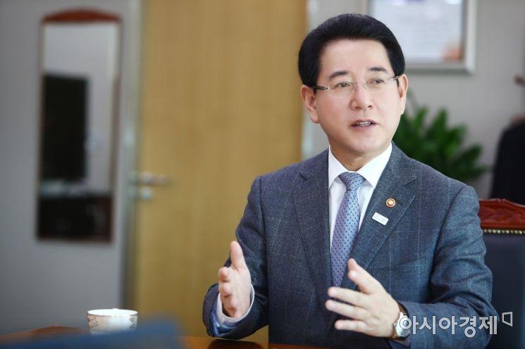 김영록 전남지사 '에코 푸른숲 전남 만들기' 간담회 가져
