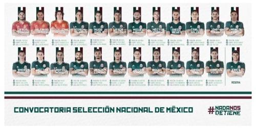 사진=멕시코 축구협회 공식 홈페이지