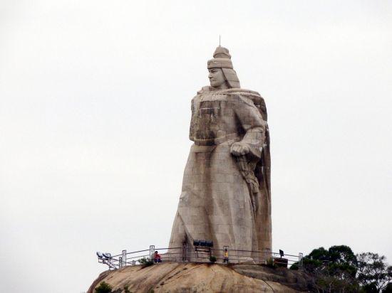 중국 푸젠성 샤먼시에 있는 정성공 석상 모습(사진=위키피디아)