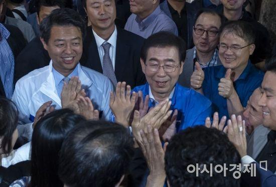 박원순 더불어민주당 서울시장 후보 / 윤동주 기자 doso7@
