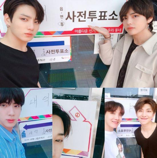 방탄소년단/사진=방탄소년단 공식 트위터