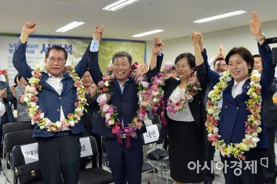 """[6·13 지선 광주·전남 당선자] 서구청장 서대석 """"사람 중심시대 열겠다"""""""