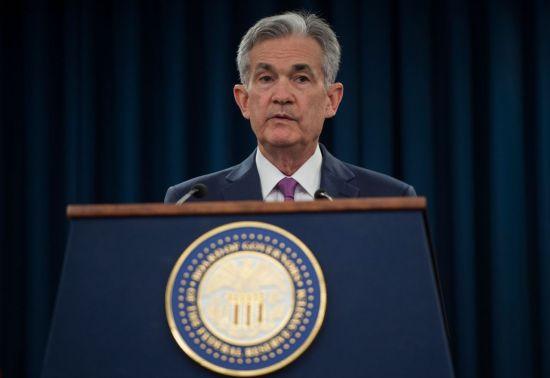 제롬 파월 연방준비제도(Fed) 의장이 13일(현지시간) 워싱턴DC에서 이틀간의 연방공개시장위원회(FOMC) 정례회의를 마친 직후 기자회견을 하고 있다. [이미지출처=연합뉴스]