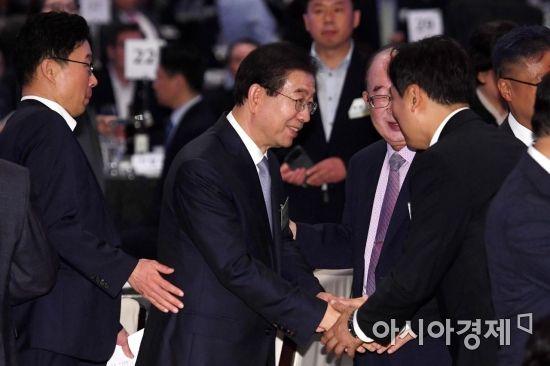 [포토] 6.15 회담 18주년 기념식 참석한 박원순 시장