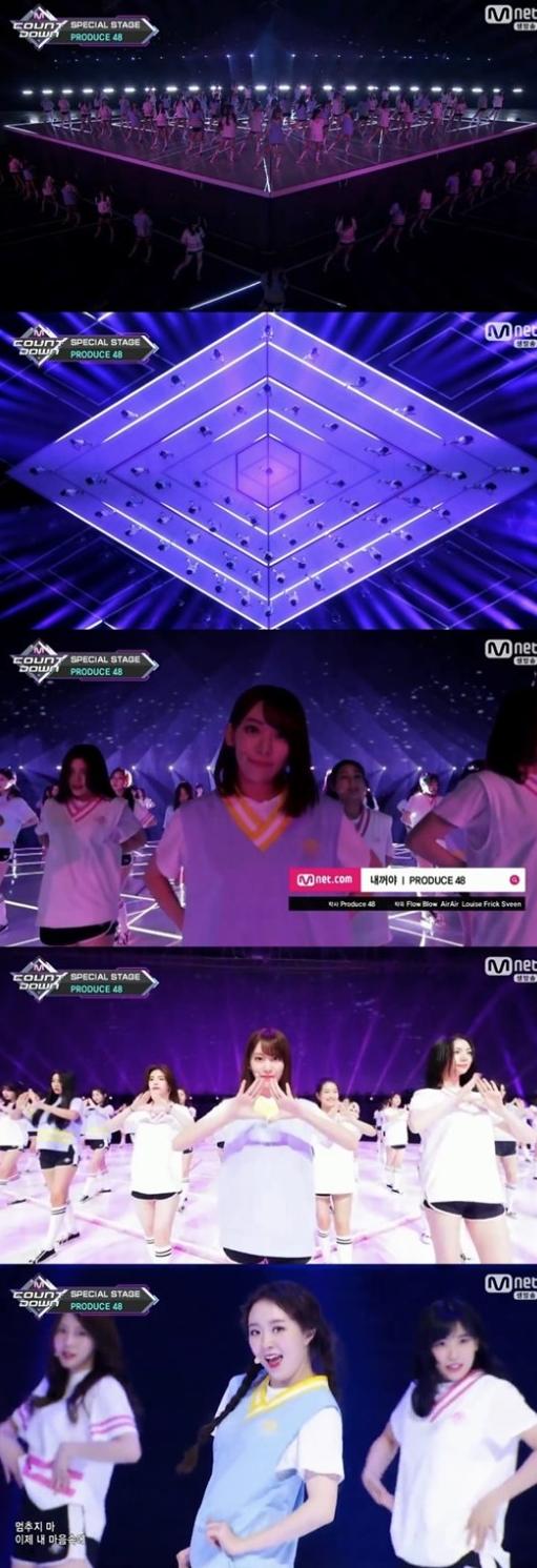 사진=Mnet '엠카운트다운' 방송화면 캡쳐
