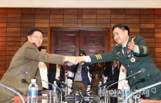 [포토]남북 군 장성급 회담 종료