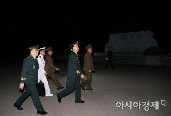 [포토]남북 장성급회담 마치고
