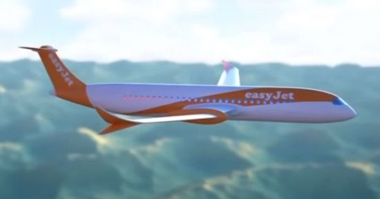 영국의 저가 항공사 이지젯은 지난해 10월 10년 내 전기 항공기를 상용화하겠다고 발표했습니다.[사진=유튜브 화면캡처]