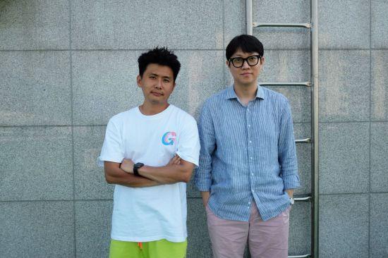▲그래피커스 허웅수(왼쪽) 김민수(오른쪽) 공동대표