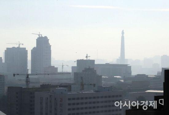 4일 오전 평양의 모습. /사진공동취재단