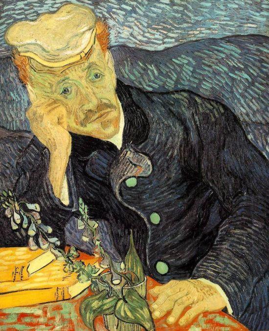 빈센트 반 고흐, '가셰 박사의 초상'(1890년)