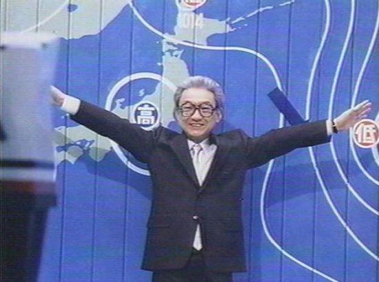 열대야란 용어를 처음 만든 인물로 알려진 구라시마 아쓰시(倉嶋厚) 박사의 모습.(사진=NHK NEWS WEB)