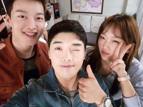 장기용 권혁수 진기주/사진=장기용 인스타그램