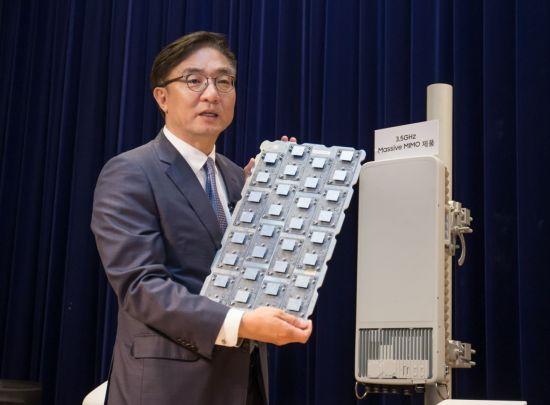 삼성전자, 中 화웨이 제치고 SKT와 5G 우선 협상