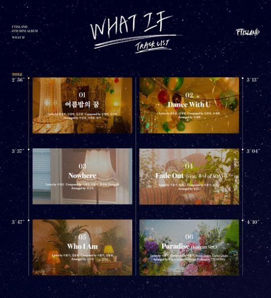 ▲ FT아일랜드의 새 앨범 트랙리스트가 공개됐다.   © 사진=FNC 엔터테인먼트