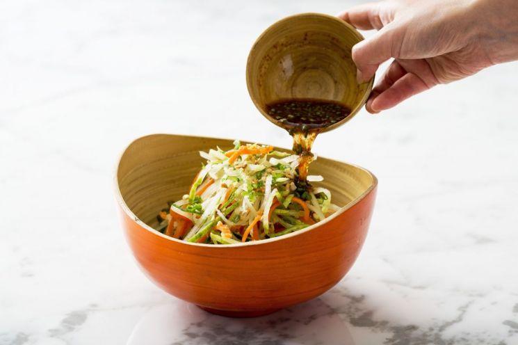 [요리수다] 그린데이에는 녹색 음식 먹는 날 '토끼밥상'