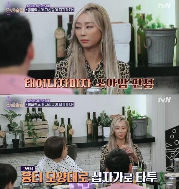사진= tvN '인생술집' 화면 캡처