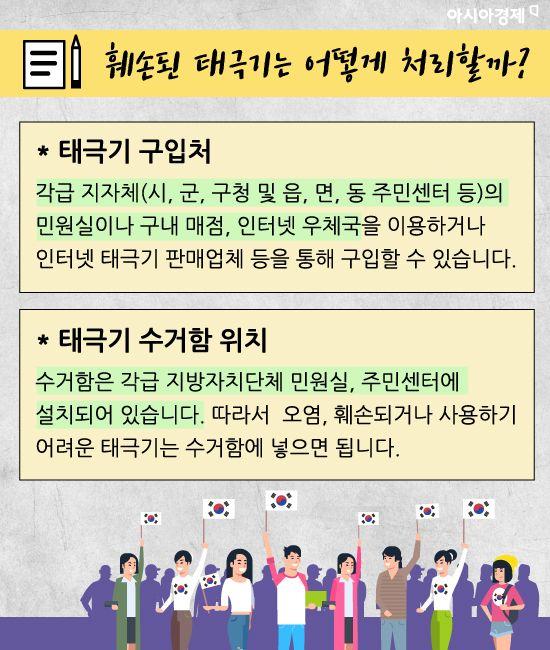 [카드뉴스]광복절 태극기 올바르게 다는 법