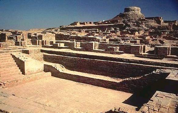 인더스 문명의 태동지로 알려진 고대도시, 모헨조다로는 초고대문명설 신봉자들에게 고대 핵전쟁의 근거로 알려진 도시이기도 하다.(사진=위키피디아)