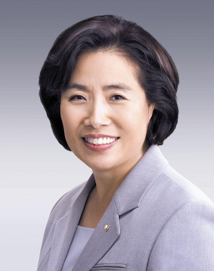 ▲제20대 국회 국토교통위원장인 박순자 자유한국당 의원