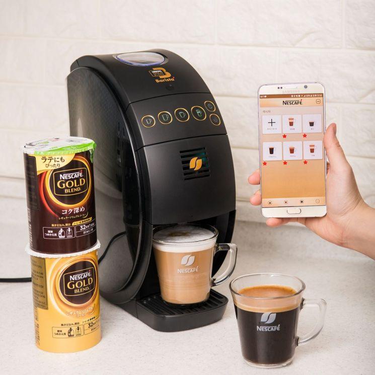 [신상 뜯어보기]IoT 기반의 신개념 커피머신 '네스카페'…우리집을 카페로(종합)