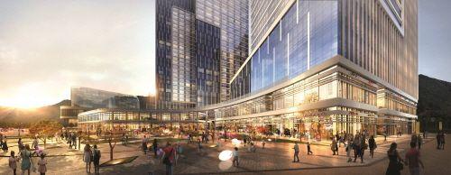 유동 인구 발길 붙잡는 스트리트형 상업시설 'GIDC Mall'