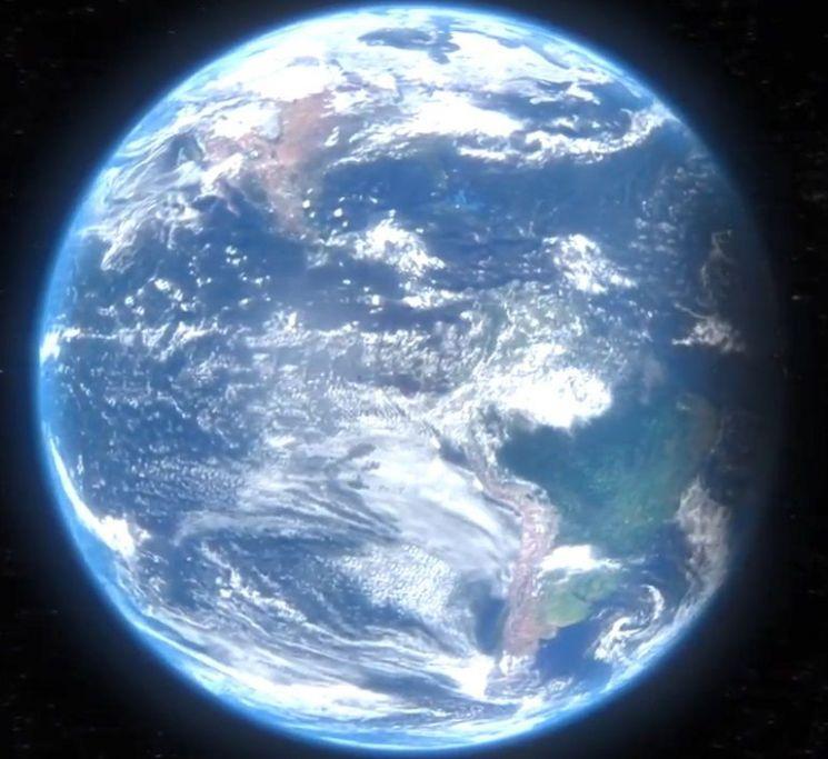 지구의 자전은 100년에 0.002초씩 느려지고 있습니다.[사진=유튜브 화면캡처]
