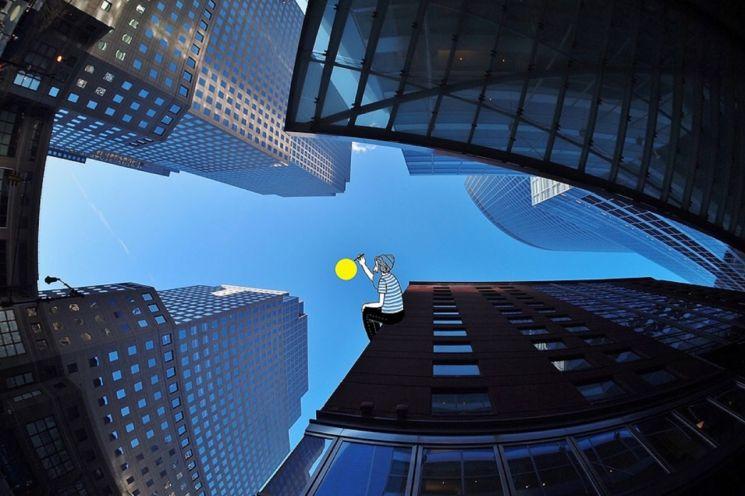 토마스 라마디유 작가의 'New york3(2015년 작)'. 사진=BNK부산은행 제공