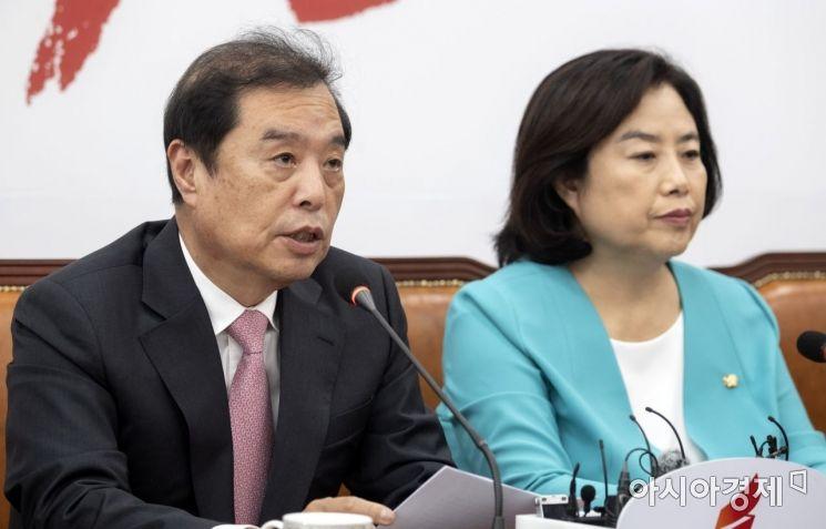 """[포토] 김병준 """"부동산 정책 너무 오락가락"""""""