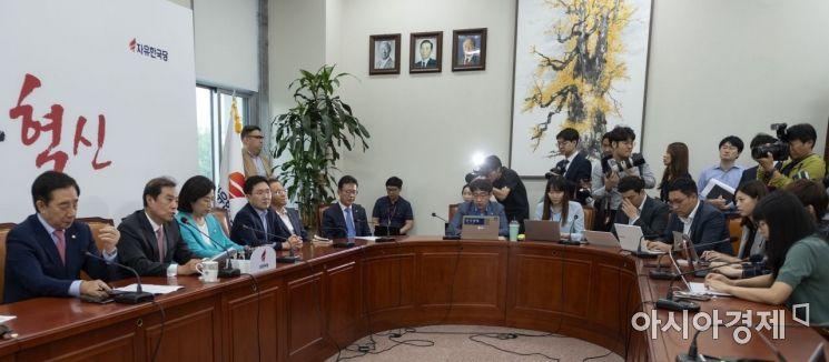 """[포토] 김병준 """"정부의 부동산 정책 신뢰도 최악"""""""