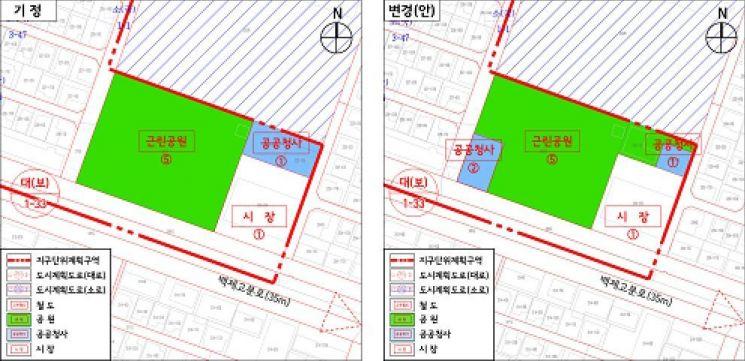잠실본동 주민센터 복합청사로 개발…공원 활용성 높인다