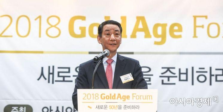 [포토]축사하는 권용원 회장