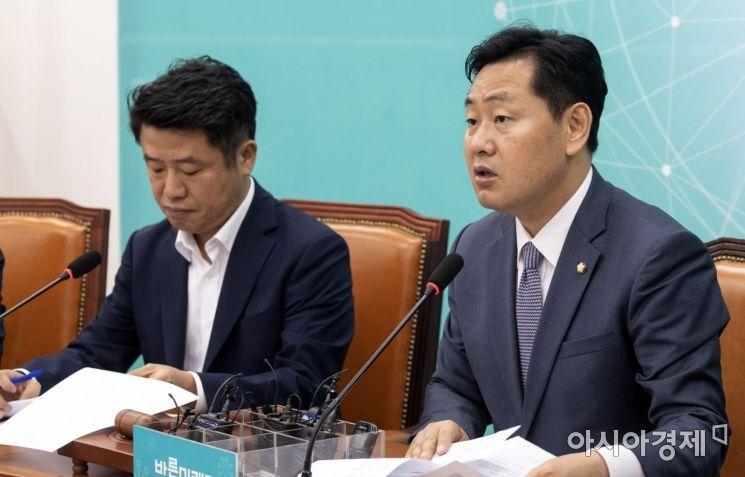 [포토] 공개발언하는 김관영 원내대표