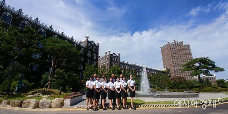 광주대 여학생 ROTC, 호남권 최고 합격률