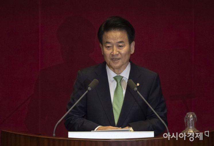 [포토] 대표연설하는 정동영 대표