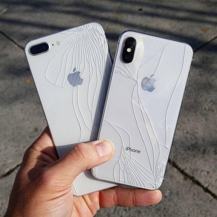 아이폰XS, 손에서 미끄러지면 76만원