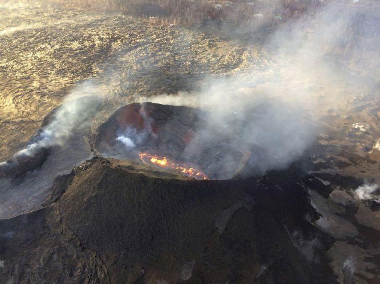 자료 사진. 하와이섬 킬라우에아 화산. 출처=AP연합뉴스