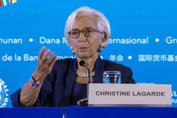 크리스틴 라가르드 국제통화기금(IMF) 총재 [이미지출처=EPA연합뉴스]