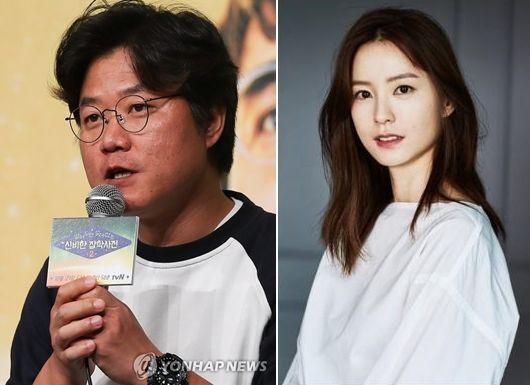 나영석 PD(왼쪽)와 배우 정유미(오른쪽)씨.