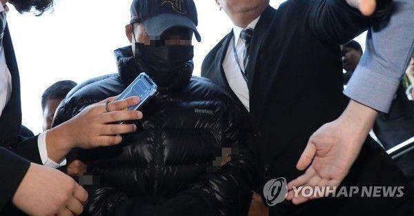 법원에 온 전처 살인 김 모 씨.사진=연합뉴스
