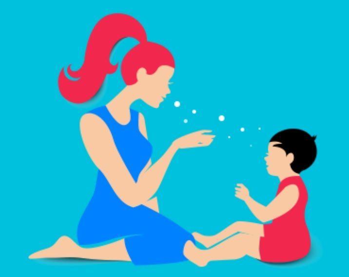 RSV는 호흡기를 통해 전염되기 때문에 영유아와 접촉 전후로 반드시 손을 씻고, 흡연 후 접촉도 해선 안된다.(사진=질병관리본부)