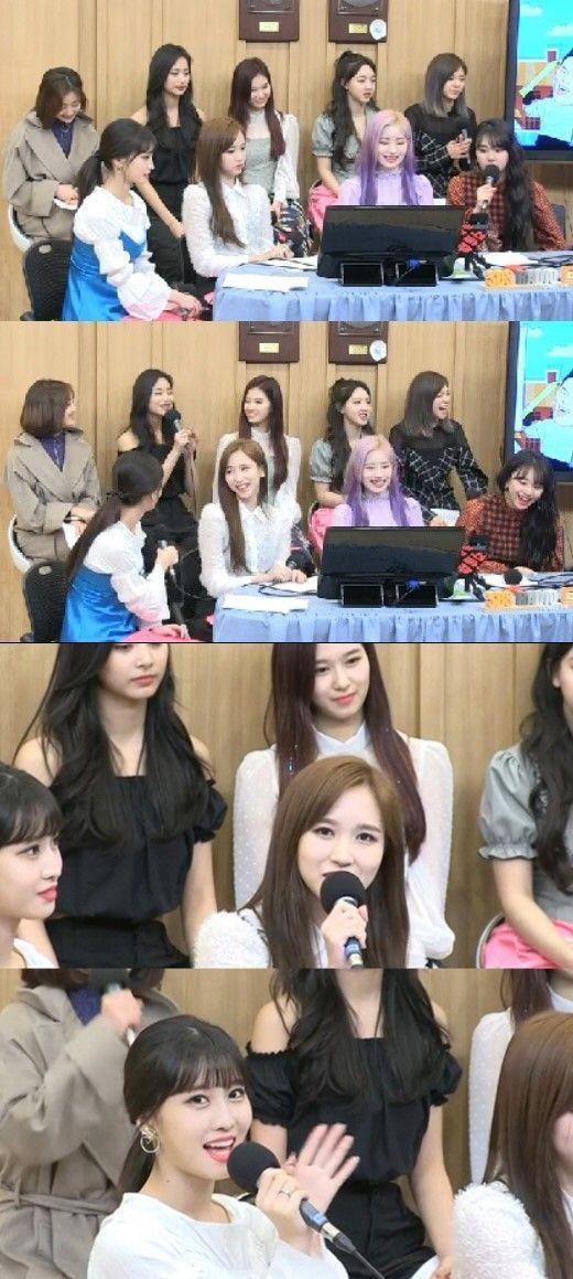 '컬투쇼' 걸그룹 트와이스가 출연했다. 사진=SBS 보이는라디오 방송화면 캡처