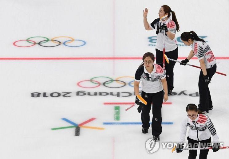 2018 평창동계올림픽 은메달을 획득한 한국 컬링 국가대표팀 '팀 킴' / 사진=연합뉴스